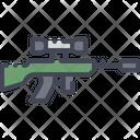 Sniper Rifle Gun Icon