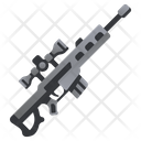 Gun Sniper Rifle Icon