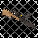 Gun Weapon Sniper Icon