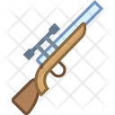 Sniper Rifle Weapon Icon