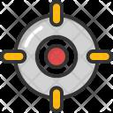 Focus Target Crosshair Icon