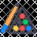 Snooker Billiard Balls Cue Sports Icon