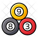 Snooker Balls Icon