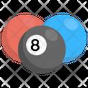 Snooker Balls Billiard Icon