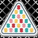 Snooker Rack Balls Icon
