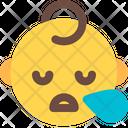 Snoring Baby Icon