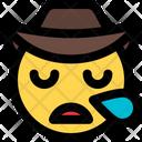 Snoring Cowboy Icon