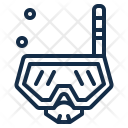 Snorkel Mask Sea Icon