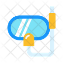 Snorkel Diving Mask Mask Icon