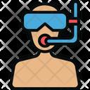 Avatar Scuba Snorkel Icon