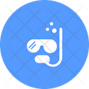 Snorkel Dive Mask Diving Equipment Icon