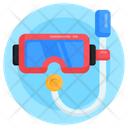 Scuba Mask Snorkel Diving Mask Icon