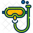 Snorkel Sea Goggle Icon