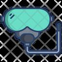 Snorkel Diving Scuba Icon