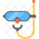 Scuba Diving Goggles Icon
