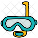 Snorkel Glass Diving Icon