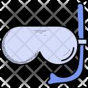 Snorkeling Goggles Pool Icon