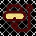 Snorkeling Scuba Mask Underwater Icon