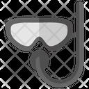 Snorkeling Scuba Mask Icon