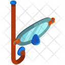 Snorkle Diving Equipment Icon