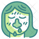 Snot Nose Mucus Icon
