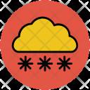 Snow Falling Snowflakes Icon