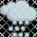 Snow Weather Forecast Icon