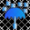 Umbrella Winter Snow Icon