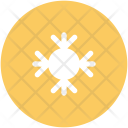 Snow Crystal Snowflake Icon