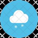 Snow Falling Cloud Icon