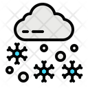 Snow Fall House Icon