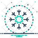 Snow Flake Christmas Icon