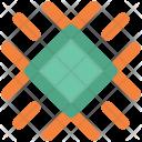 Snow Crystal Snowflake Icon