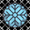 Snow Snowflake Cold Icon