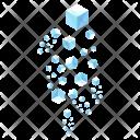 Snow Isometric Icon