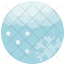 Light Snow Cloud Icon