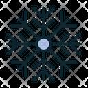 Snowfall Winter Cold Icon