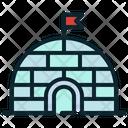 Eskimo North Pole Icon