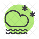 Snow Frost Fog Icon