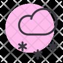 Snow Snowfall Cloud Icon