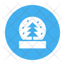 Snow Globe Winter Icon