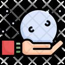 Snow Ball Winter Icon