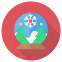 Ball Snow Tree Icon