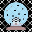 Snow Globe Ornament Icon