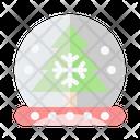 Snow Ball Crystal Ball Snow Globe Icon