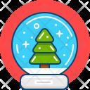 Snowball Winter Christmas Icon