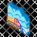 Snow Blower Truck Icon