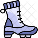 Boot Winter Footwear Icon