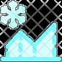 Snow Chart Icon