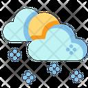 Snow Cloud Cloud Snow Icon